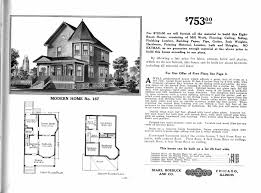 House Specs Sears Homes 1908 1914