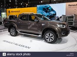 renault alaskan 2017 new renault alaskan 4x4 pickup truck at the iaa 2016 stock photo