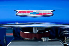 1955 chevrolet belair emblem chevrolet emblems