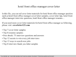 office manager cover letter office manager cover letter sample