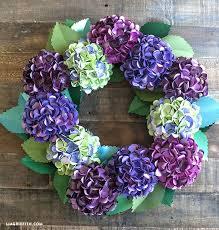 flower wreath 10 paper flower wreaths you can diy