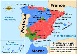 Map Of Malaga Spain by File Guerre Civile Espagnole Carte 1936 Svg Wikimedia Commons