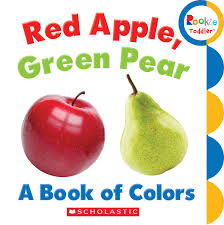 amazon red apple green pear book colors rookie