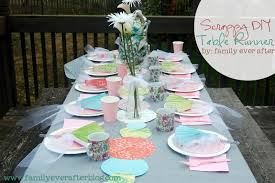 Tea Party Table by Family Ever After Diy Tea Party Decorations