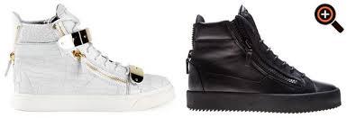 italien design schuhe giuseppe zanotti sneaker für herren neue schöne high top