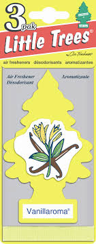 car freshner trees air freshener 3 pack vanillaroma shop