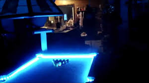 String Lights Over Pool by Led Pool Table Youtube