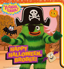 halloween photo book amazon com happy halloween brobee yo gabba gabba