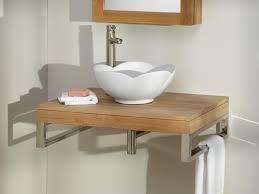 bathroom wall mount bathroom vanity 53 edge teak wall