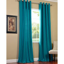 Bright Blue Curtains Appealing Bright Turquoise Curtains Decorating With Bedroom