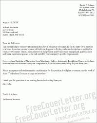 sales associate cover letter template administrative assistant