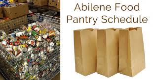 abilene food pantry schedule food bank of west central texas
