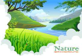 vector drawing nature scenery free vector download 94 038 free