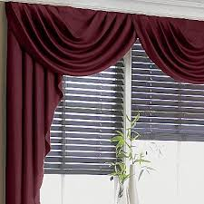 Jcpenney Swag Curtains Supreme Antique Satin Cascade Swag Valance Jcpenney Windows