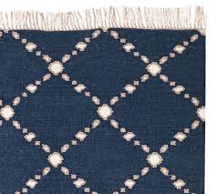 Outdoor Rugs Made From Recycled Plastic by Dot U0027n Dash Recycled Yarn Indoor Outdoor Rug Indigo Pottery Barn