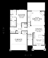 Empty Nest Floor Plans Mascord House Plan 2185ac The Nehalem