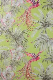 Bird Print Curtain Fabric Bird Of Paradise Wallpaper U0026 Fabric