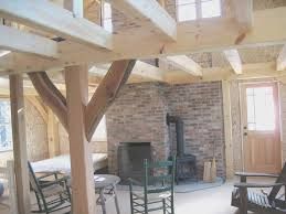 basement view timber frame house plans with walkout basement