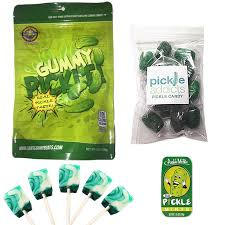 pickle candy deluxe pickle candy sler gift pack 4pc set dill pickles