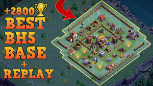 clash of clans builders hall 5 base builder hall 5 base bh5
