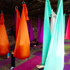 5x2 8m aerial polyamide yoga swing hammock trapeze anti gravity