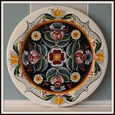 abstract decorative plate hand painted ceramic wall by essenziale
