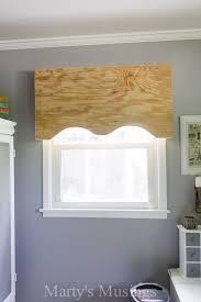 Making A Valance Window Treatment How To Make A No Sew Fabric Window Valance