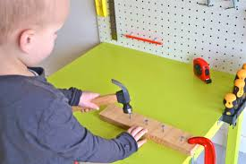 Toddler Tool Benches Child U0027s Workbench How We Montessori
