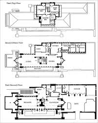house plan prairie floor plans frank lloyd wright home designs