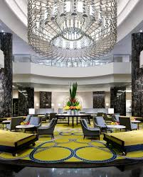 discover the best luxury hotel lobby and reception lighting decor