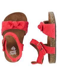 oshkosh eyelet sandal crib shoes crib shoes babies and babies