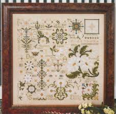 Country Cottage Cross Stitch Country Cottage Needleworks Daisy Sampler Cross Stitch Pattern