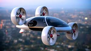 futuristic flying cars back to the future flying taxis to transport muscovites in 2018