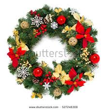 christmas wreaths christmas wreath stock images royalty free images vectors