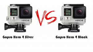 gopro hero4 silver amazon deal black friday gopro hero4 black vs silver which to buy hubpages