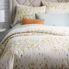 Organic Duvet Cover King Just Like A Painter U0027s Palette The Dabs And Dots Printed On This