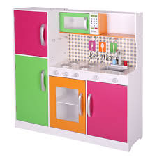 pretend kids play kitchen toy play set cooking set wood toddler