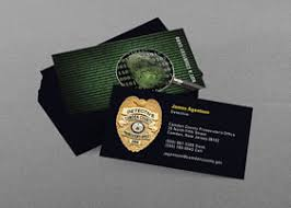 enforcement business card kraken design