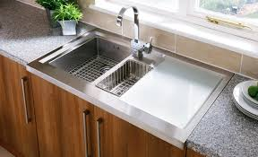 Stainless Sinks Kitchen Sink Faucet Design Rectangular Form Stainless Sinks Kitchen
