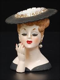 Vintage Lady Head Vases 58 Best Vintage Lady Head Vases Images On Pinterest Vintage
