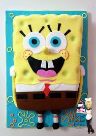 spongebob squarepants cake cakecentral