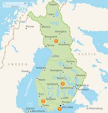 Interactive Map Of Africa by Map Of Finland Finland Regions Rough Guides Rough Guides