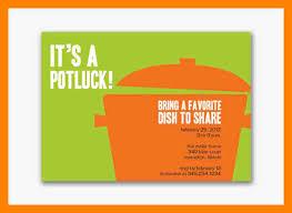 potluck invitation 6 free potluck template resumed
