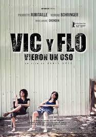 Vic y Flo vieron un oso