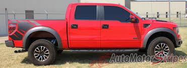 Ford Raptor Truck Decals - 2009 2014 ford f 150 predator 2 factory raptor style bed vinyl