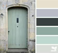 Seafoam Green Home Decor Seafoam Color Palette Door Tones