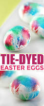 Decorating Easter Eggs With Ties by Tie Dyed Easter Eggs Frugal Mom Eh