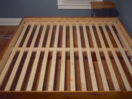 Slatted Bed Frames Wonderful King Slatted Bed Frame Genwitch For Ordinary Excellent