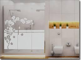 edle badezimmer badezimmer dekoration und edle glasfolie zur dekoration der duschwand