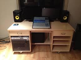 Audio Studio Desk by Sound Studio Desk Pennington Millworks